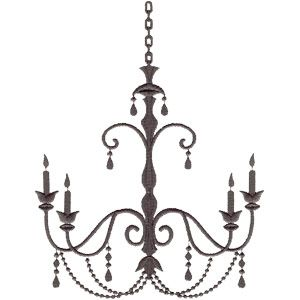 Chandeliers & Frames embroidery and applique