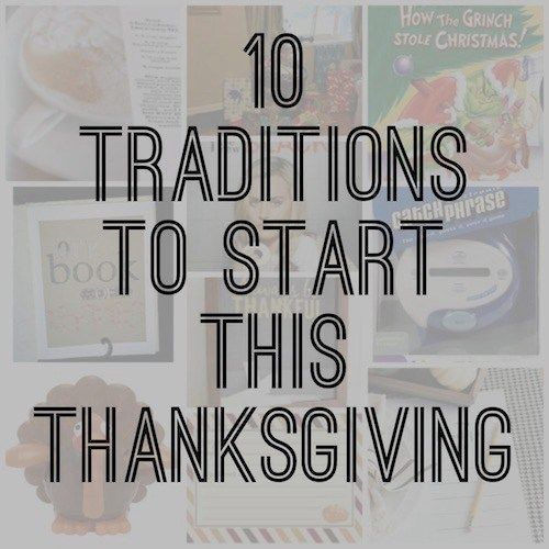 Thanksgiving traditions, Thanksgiving activities, family traditions
