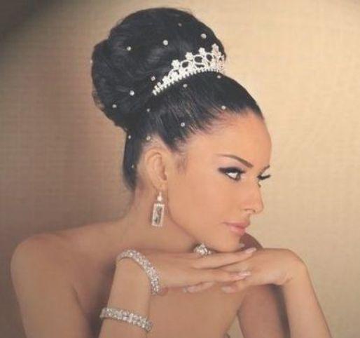 31 New Ideas For Bridal Updo African American High Bun Bridal Natural Wedding Makeup Natural Black Women Hair Styles