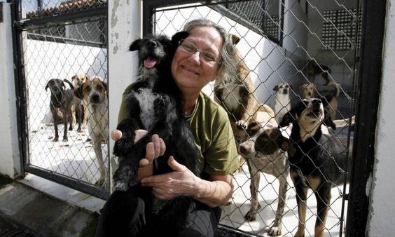 Morre Izabel Nascimento, presidente da Suipa  Amante incondicional dos animais, ativista tinha mais de 800 animais em casa e doou imóveis à entidade