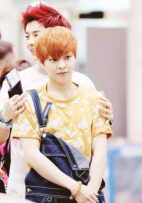 Xiumin Exo Cute So cute!! XiuHan