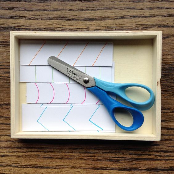 montessori practical life | using scissors with precision and accuracy.