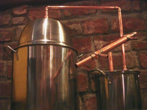 5-GALLON-Steel-Copper-Pot-Still-Boiler-Thumper-Distill-Distillation-Moonshine