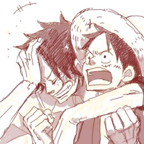 Ace & Luffy