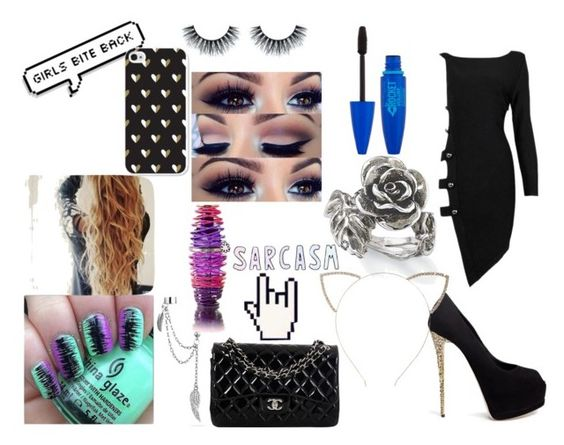"""""""Clubbing"""" by hannah-grier-dallas ❤ liked on Polyvore featuring moda, Posh Girl, Giuseppe Zanotti, Bling Jewelry, Justin Bieber, Natures Jewelry, Cara e Chanel"""