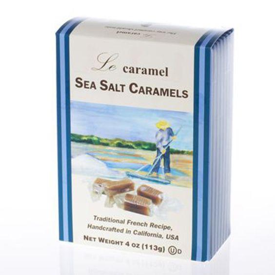 LE CARAMEL SEA SALT CARAMELS.   FRENCH RECIPE !!