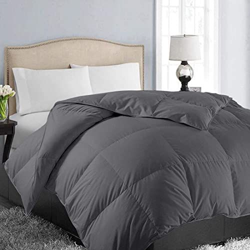 Best Seller Easeland All Season King Size Soft Quilted Down Alternative Comforter Hotel Collection Reversible Duvet Insert Corner Tabs Winter Warm Fluffy Hypoa In 2020 Grey Bedding Comforters Duvet Insert