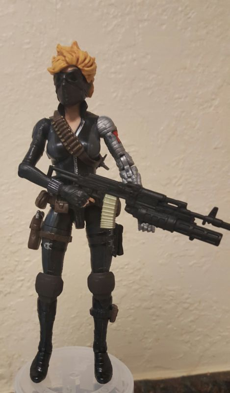 Winter Widow (Marvel Legends) Custom Action Figure