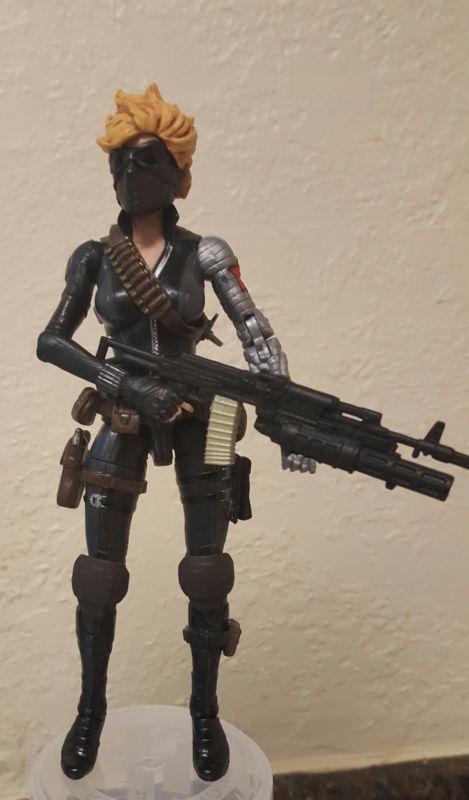 Winter Widow (Marvel Legends) Custom Action Figure