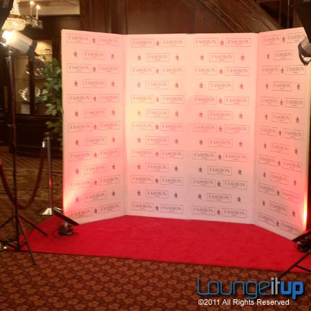 DIY Hollywood Theme Red Ropes | Red Carpet 10'x40' | Lounge It Up