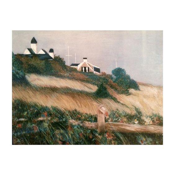 Pastel on paper #capecod #capecodimages #capecodinstagram #landscspe #colourful #fallatumn #seascape #instaart #instaartist #instaartwork #art #artist #artwork #pastel @mulvaneartmuseum #talentedpeopleinc by meh__art
