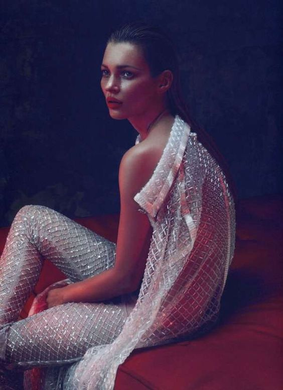 Haunting Showgirl Shoots - The Kate Moss Vogue Japan by Mert & Marcus
