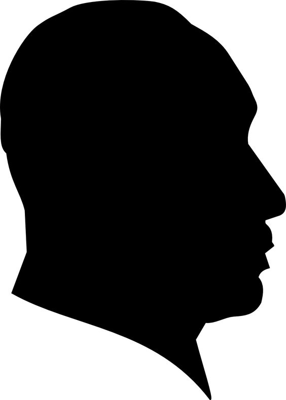 Dr Martin Luther King Profile Silhouette SVG | Templates ...