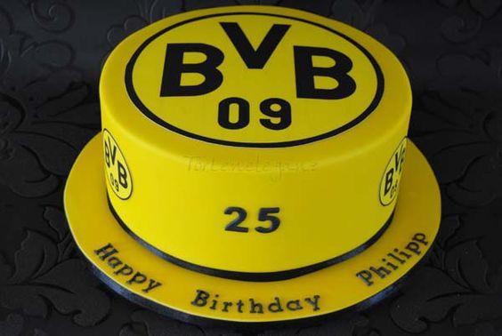BvB 09 Geburtstags- Torte | Flickr - Fotosharing!