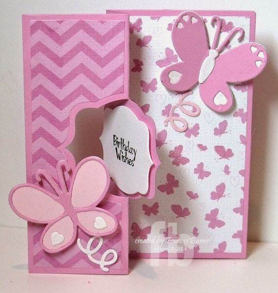 Birthday Wishes created by Frances Byrne using Sizzix Royal Flip-its Card Framelits:
