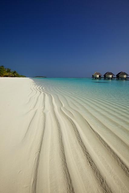 Kanuhura Beach...Maldives Beach Side Water Villa  Destination: the World