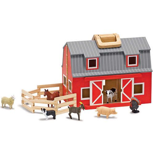 "Melissa & Doug Fold and Go Barn - Melissa & Doug - Toys""R""Us"