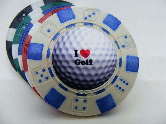 Golfing Gifts for him or her  Game of Poker/Fish by AdamoGolf