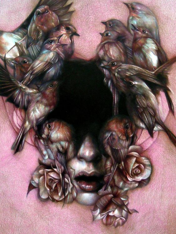Marco Mazzoni- beautiful contrast, lovely subtle colours and shading