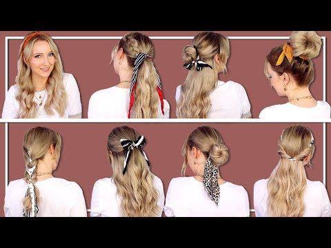 Die Schonsten Frisuren Mit Haarbandern Einfach Schnell Thebeauty2go Youtube Haarband Frisur Frisur Mit Band Frisuren
