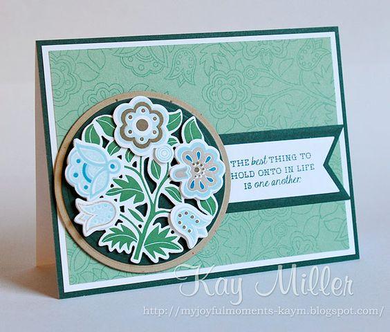 My Joyful Moments blog- Fancy Folk Art - Papertrey Ink