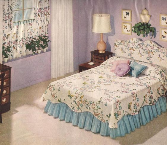 1950s Bedrooms  Mid Century Bedrooms   home  cushions  beddings  blankets    Pinterest   1950s bedroom  Mid century bedroom and 1950s. 1950s Bedrooms  Mid Century Bedrooms   home  cushions  beddings