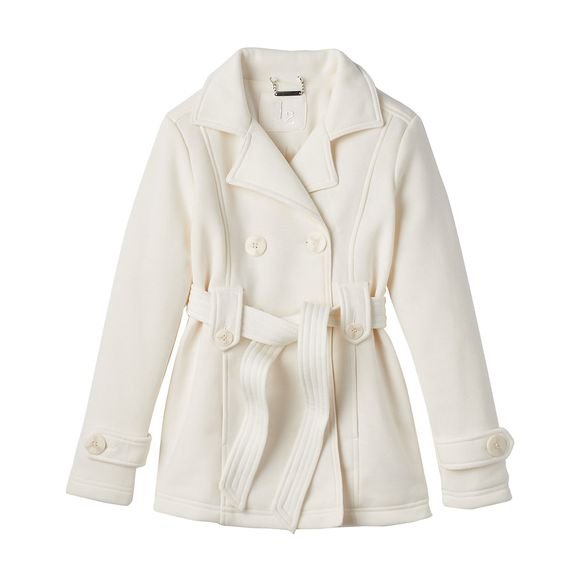 Girls 7-16 J2 by Jou Jou Double-Breasted Fleece Trench Coat | Coat