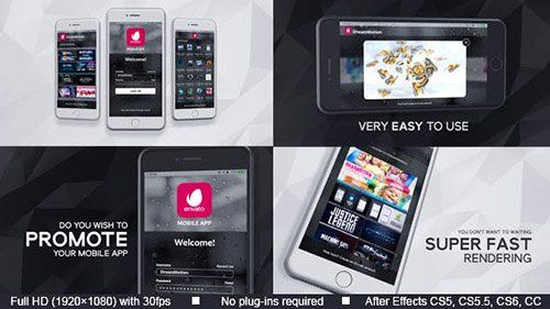 Mobile App Promo 20692513 - Project for After Effects (Videohive)