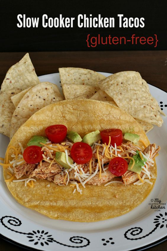 Slow cooker chicken, Tacos and Slow cooker chicken tacos on Pinterest