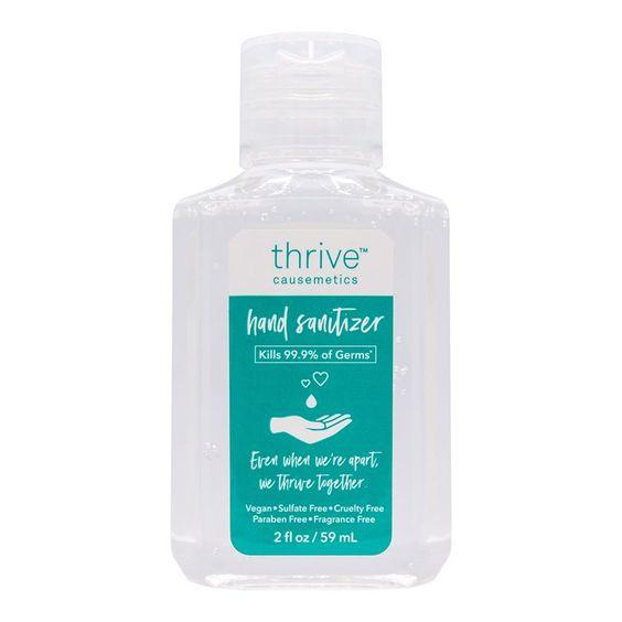 Moisture Enriched Hand Sanitizer Thrive Causemetics In 2020 Thrive Causemetics Moisturizer Hand Sanitizer