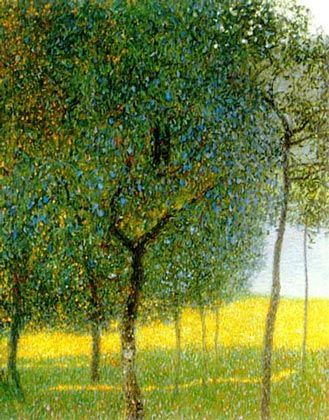 Google Image Result for http://www.klimtpaintings.org/images/fruit_trees_by_the_lake.jpg: