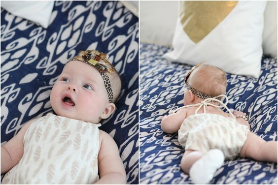 baby halter romper and feather headband