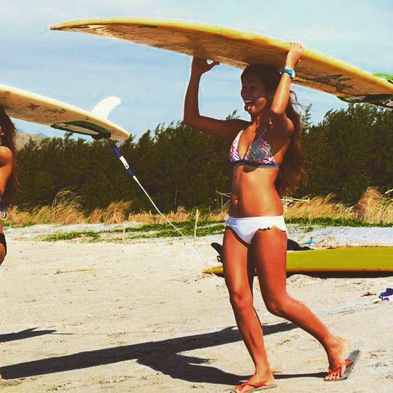 Retro. Beachin'. I miss.   Yes! I'm a Surfaholic :)