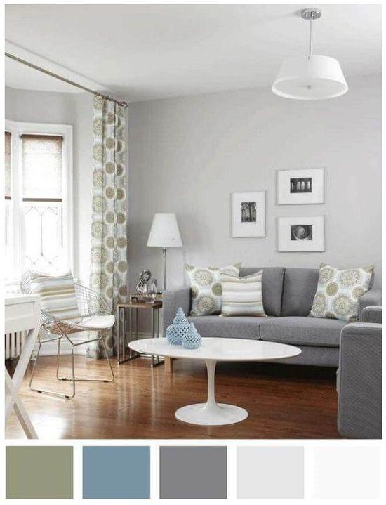 صور وافكار تناسق الوان الجدران مع الاثاث في الديكور المنزلي Living Room Grey Living Room Color Schemes Living Room Colors