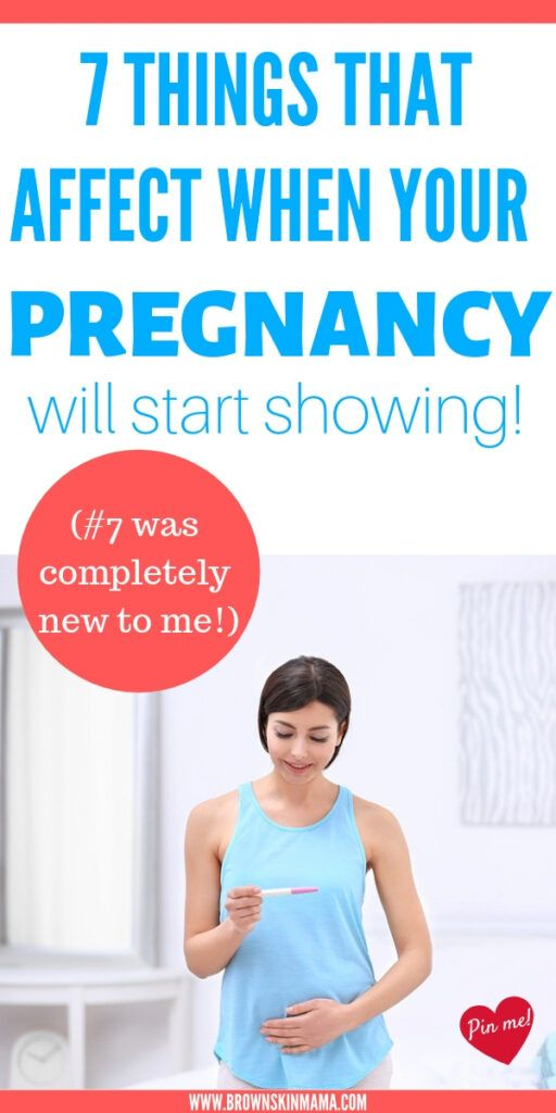 When Do You Start Showing With Your First Baby : start, showing, first, Pregnancy
