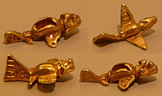 Pre-Columbian gold planes: