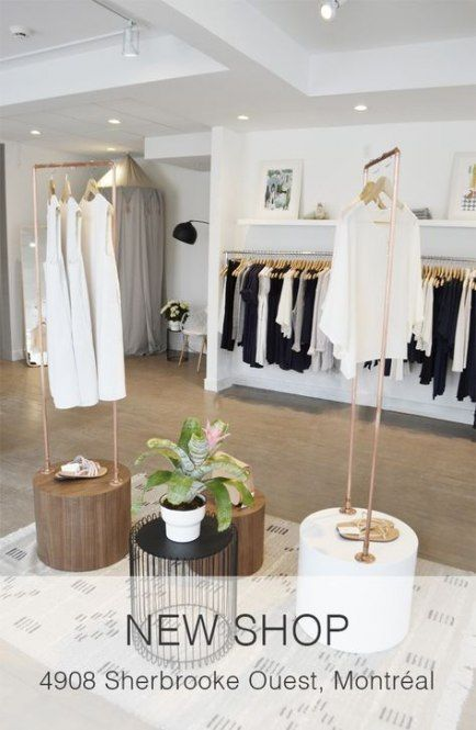 Clothes Shop Interior Design Ideas Visual Merchandising 38 Ideas