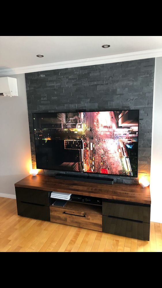 Pin On Meubles Tele Tv Stands