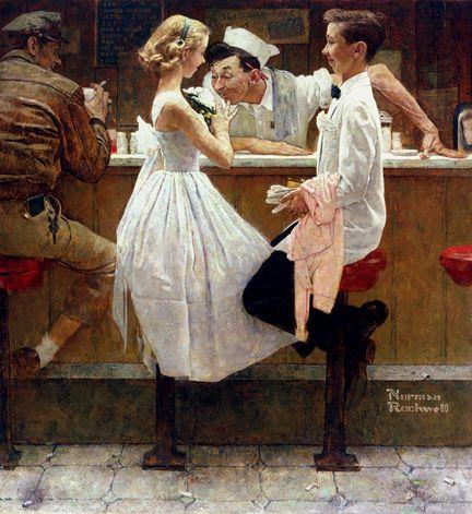 norman rockwell | Norman Rockwell, artista.