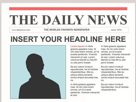 Best  Newspaper Article Template Ideas On   School