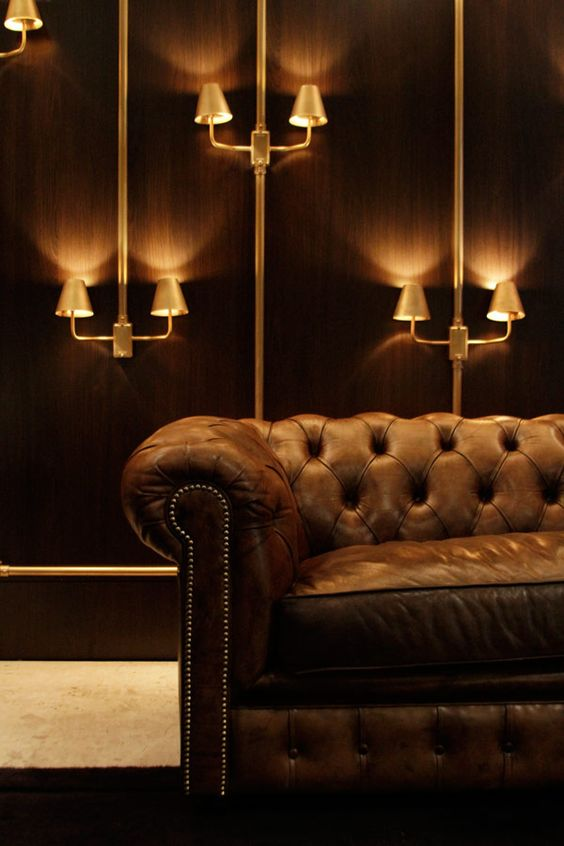 The amazing atmosphere of a Chesterfield.