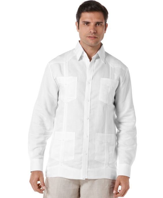 Cubavera Shirt, Long Sleeve Guayabera Shirt