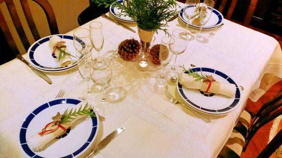 Mesa de Fin de Año en familia hoy en el blog