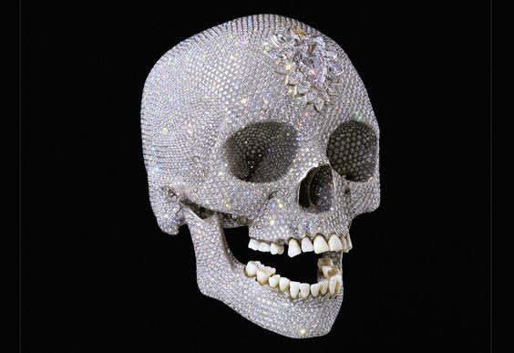 Hirst diamond skull - Tate Modern ...