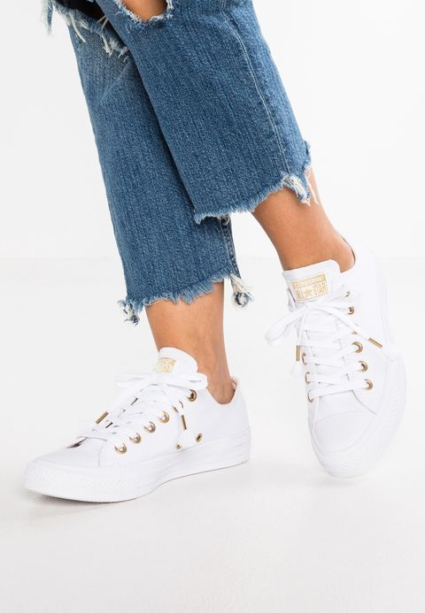 converse basse blanche chuck taylor