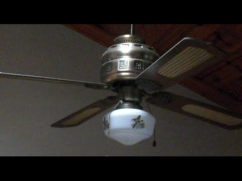 Two Ceiling Fans Sears Roebuck 689 116260 Junk On The Street Youtube Ceiling Fan Home Ceiling Fan