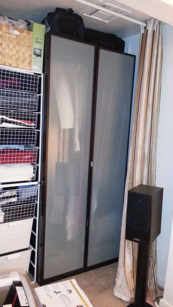 Ikea Pax Wardrobe Frosted Glass Door And Ikea Pax On