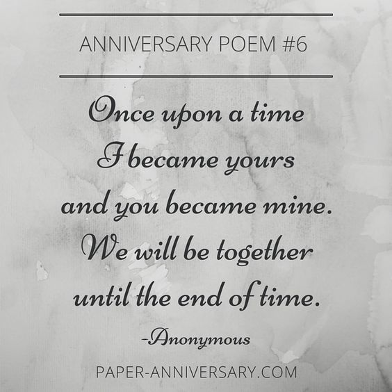 10 EPIC Anniversary Poems For Him