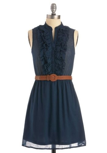 Next Weekend Dress in Evening | Mod Retro Vintage Solid Dresses | ModCloth.com - StyleSays