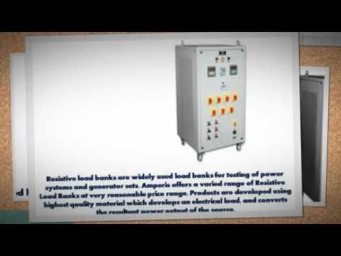 amperis-load resistor banks is a device which develops an electrical load, applies the load to an electric  Where a diesel-electric locomotive is prepared for self-motivated braking, for more please visit http://www.amperis.com/en/products/misc/battery-dischargers/ac-load-bank-battery-discharger/